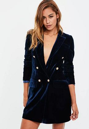 robe blazers velours MG